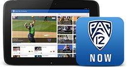 Pac-12 Now on Tablet