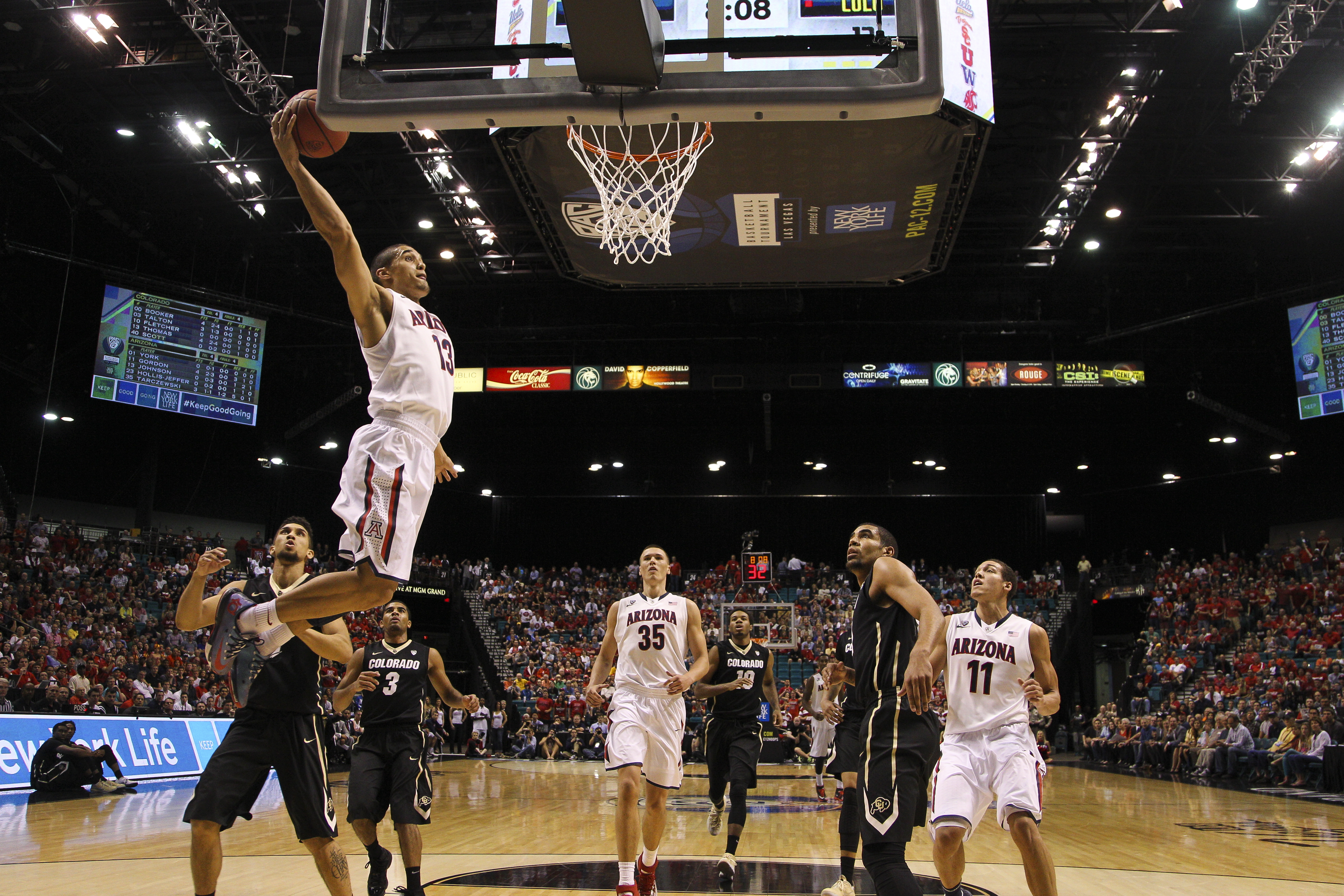 2014 Pac-12 Tournament bracket update: Arizona marches on