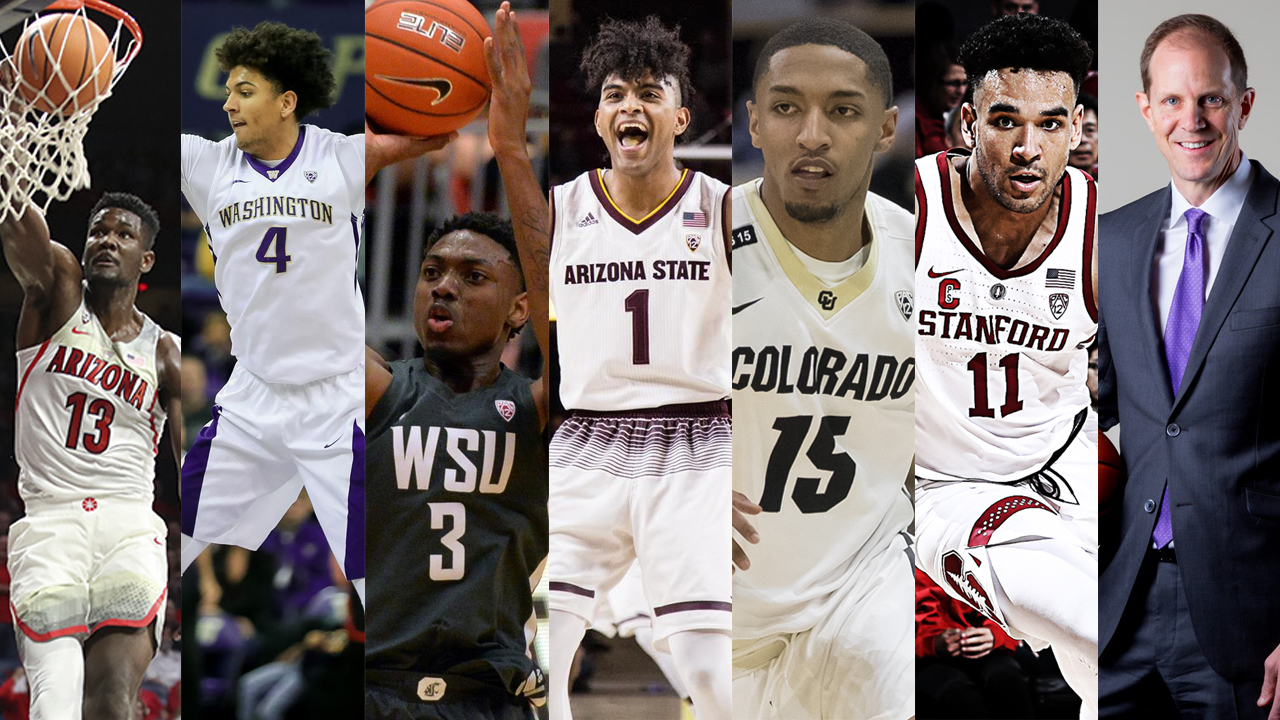 2017-18 Pac-12 Men s Basketball All-Conference individual honors ... 2821771bc