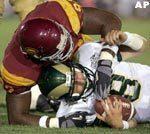 No. 1 USC Shuts Down Colorado State 49-0