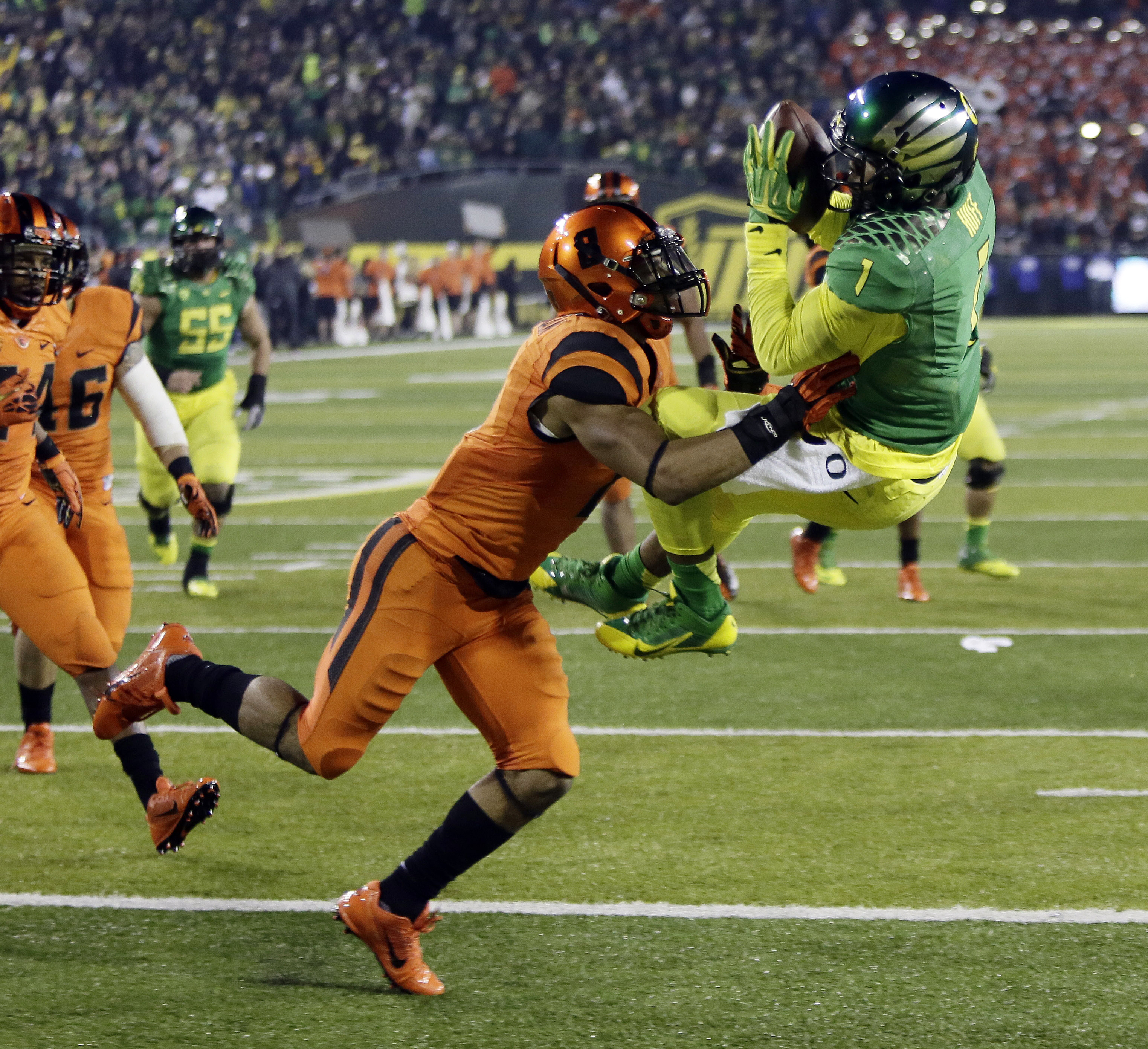 oregon state beavers vs oregon ducks football november 29 2013