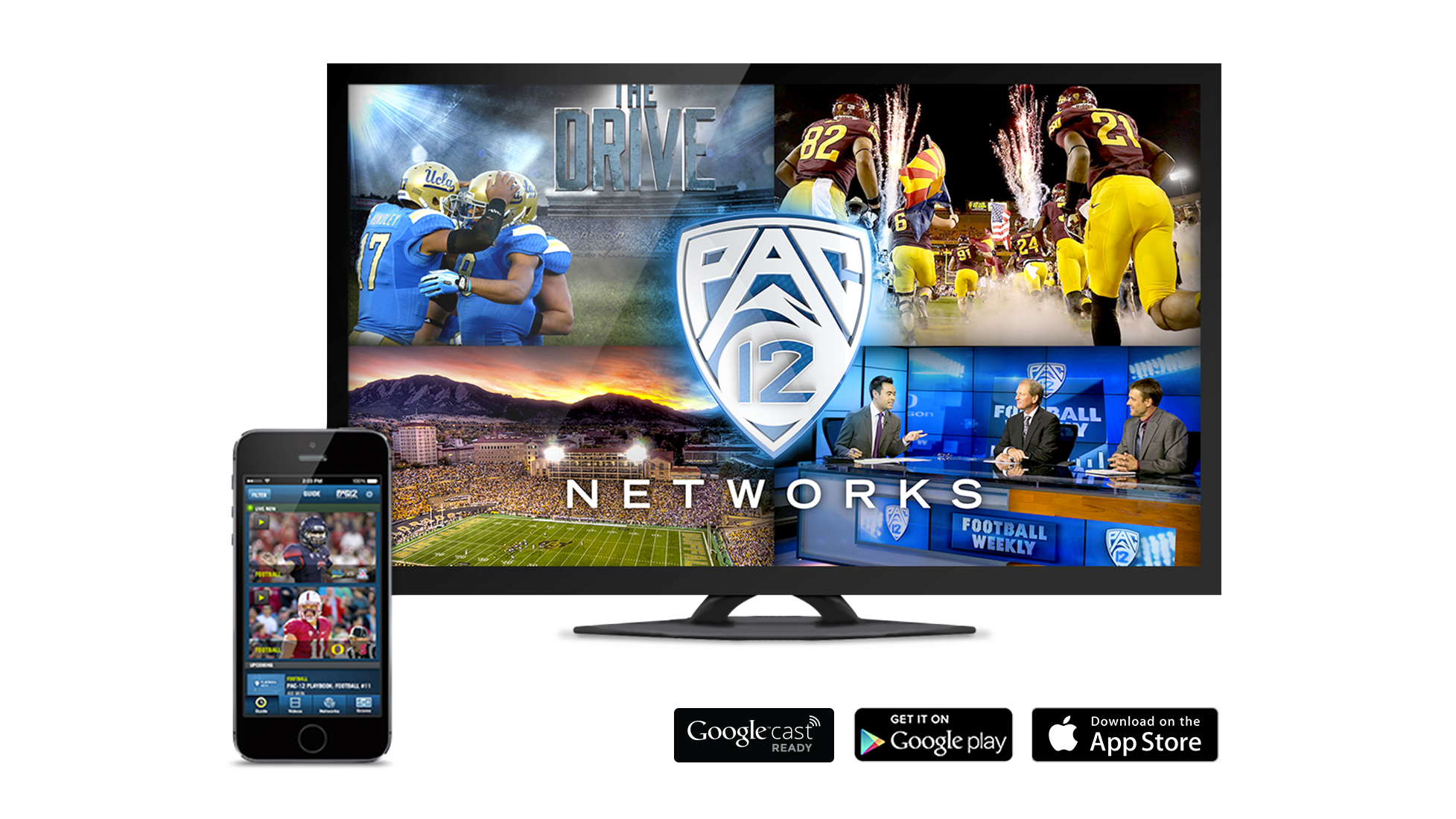 Pac 12 Now For Ios Adds Chromecast Support Pac 12