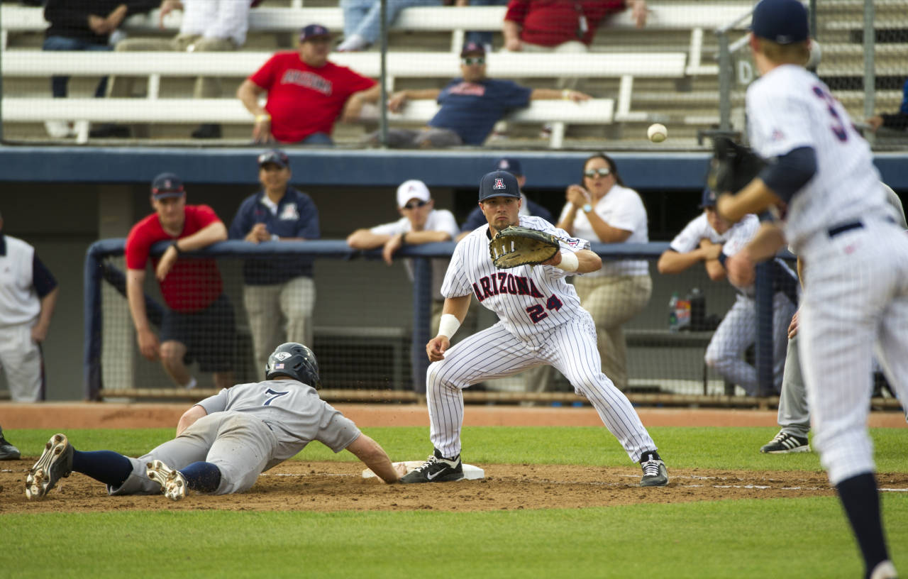 rice vs arizona wildcats baseball - february 20, 2015 - pac-12 | pac-12