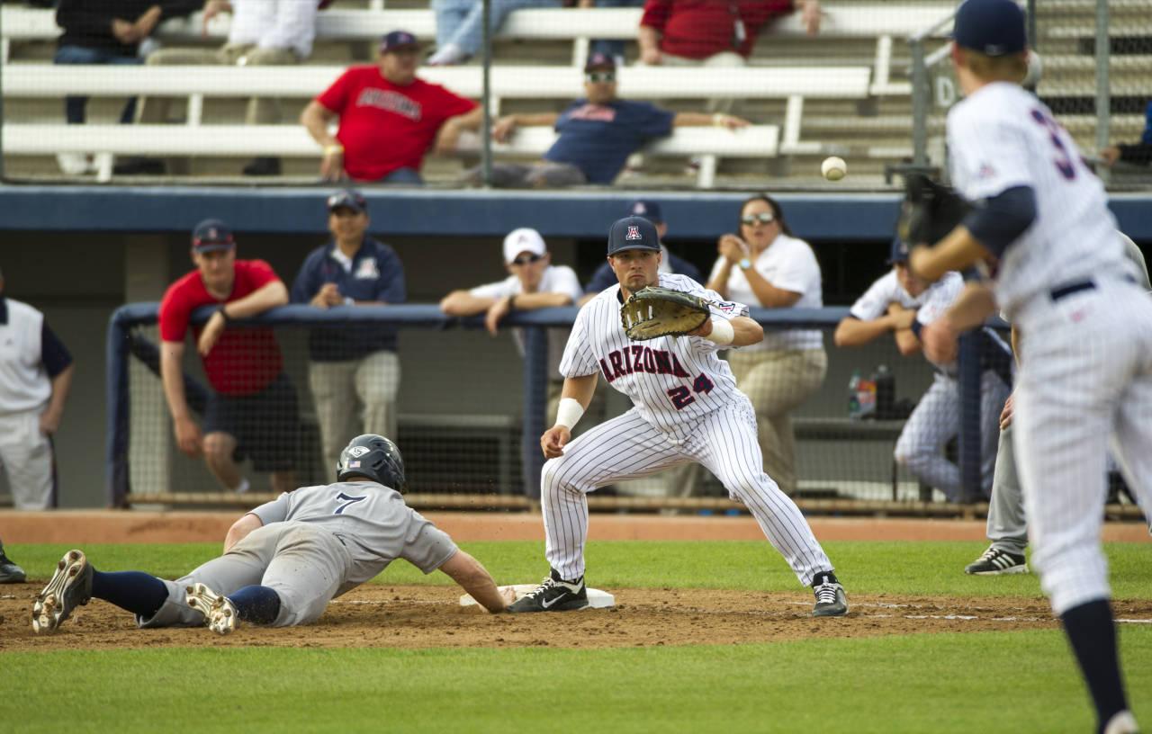 rice vs arizona wildcats baseball - february 20, 2015 - pac-12 | pac-12
