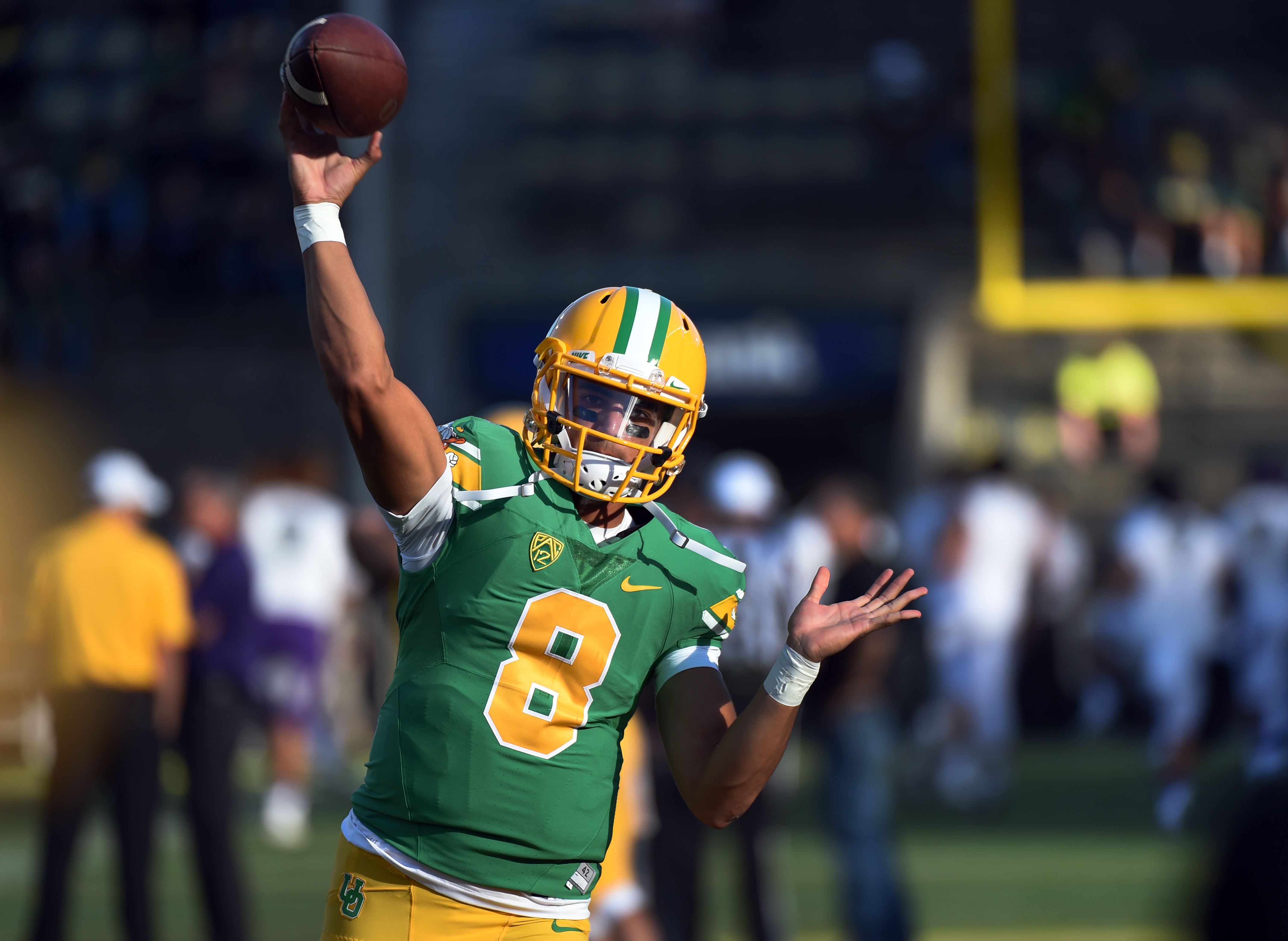 Marcus Mariota, Oregon Ducks to be featured in Pac-12 Networks ...