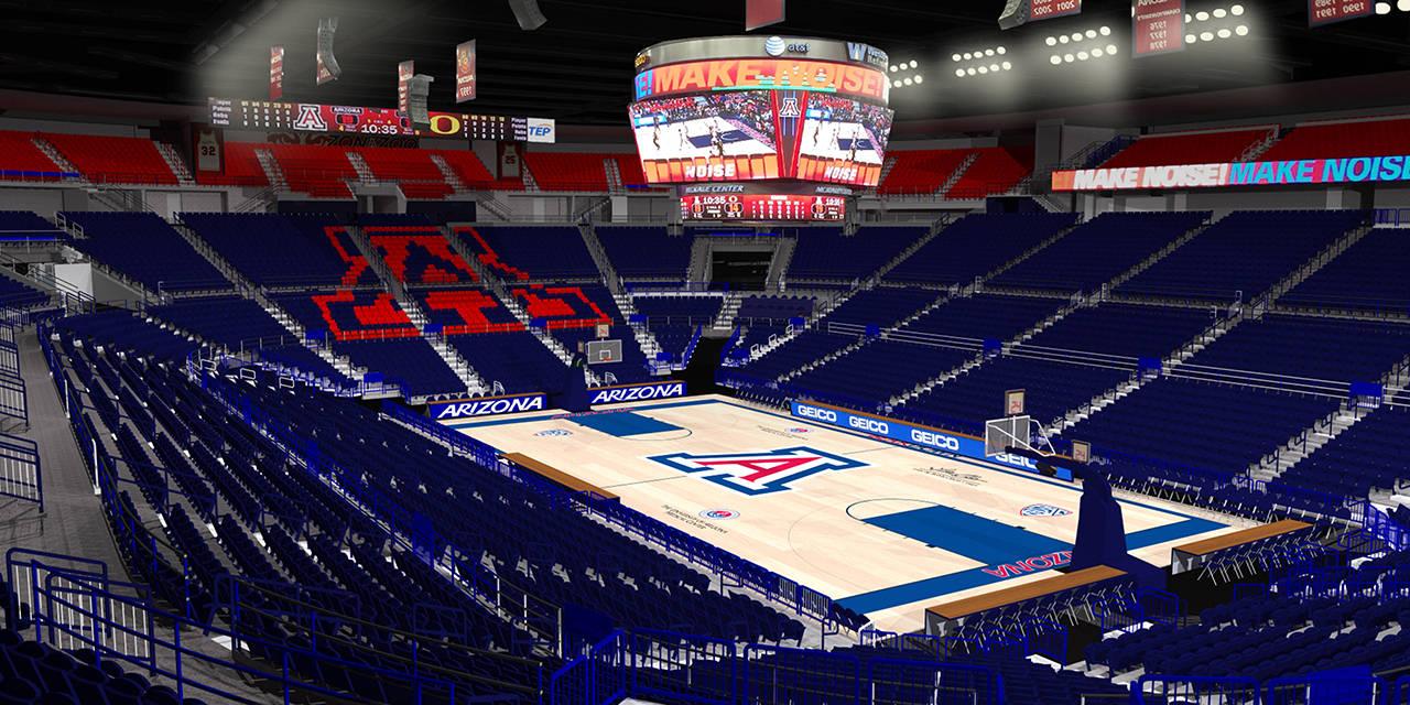 Arizona's McKale Center renovation tour | Pac-12