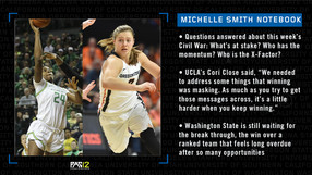 Michelle Smith Pac-12 women's basketball notebook: Ruthy Hebard (ORE) and Mikayla Pivec (OSU)