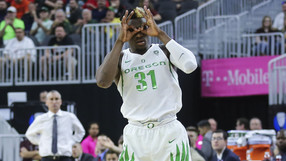 <p>Dylan Ennis and the Ducks looked good against Arizona State.</p>