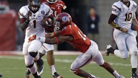 """<p>Rice-Eccles Stadium has proven to be a treacherous venue for visitors this season, but<a href=""""http://pac-12.com/videos/video-recap-arizona-state-football-utah"""" target=""""_blank"""">the Sun Devils rode a 13-point fourth-quarter outburst</a>to escape with the comeback victory in Salt Lake City. Taylor Kelly and<a href=""""http://pac-12.com/videos/postgame-interview-arizona-state-utah-marion-grice"""" target=""""_blank"""">Marion Grice</a>led the way on offense before<a href=""""http://pac-12.com/videos/postgame-interview-arizona-state-utah-will-sutton"""" target=""""_blank"""">Will Sutton's interception sealed it</a>. ASU returns home <a href=""""http://pac-12.com/event/2013/11/16/oregon-state-arizona-state"""">to face Oregon State</a> while<a href=""""http://pac-12.com/event/2013/11/16/utah-oregon"""" target=""""_blank"""">Utah ventures to Oregon</a>.</p>"""