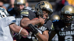 """<p>The Buffs finally made up their September contest canceled by flooding on Saturday, taking on Charleston Southern instead of the originally scheduled Fresno State.<a href=""""http://pac-12.com/videos/postgame-interview-colorado-football-quarterback-sefo-liufau-after-confidence-building-game"""" style=""""line-height: 1.6em;"""" target=""""_blank"""">Quarterback Sefo Liufau</a><span style=""""line-height: 1.6em;"""">won his first career start while</span><a href=""""http://pac-12.com/videos/colorado-football-charleston-southern-highlights"""" style=""""line-height: 1.6em;"""" target=""""_blank"""">Michael Adkins scored four touchdowns</a><span style=""""line-height: 1.6em;"""">. Colorado</span><a href=""""http://pac-12.com/event/2013/10/26/arizona-colorado"""" style=""""line-height: 1.6em;"""" target=""""_blank"""">hosts Arizona next</a><span style=""""line-height: 1.6em;"""">.</span></p>"""