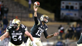 """<p><a href=""""http://pac-12.com/videos/postgame-interview-colorado-football-sefo-liufau-california"""" target=""""_blank"""">Sefo Liufau's</a>364 yards and<a href=""""http://www.cubuffs.com/ViewArticle.dbml?DB_OEM_ID=600&amp;ATCLID=209311890"""" target=""""_blank"""">Paul Richardson's</a>11 catches pushed the Buffs to<a href=""""http://pac-12.com/videos/video-recap-colorado-football-california"""" target=""""_blank"""">snap their 14-game conference losing streak</a>. Meanwhile, the Bears dropped their 13th straight Pac-12 game. <a href=""""http://pac-12.com/videos/postgame-interview-colorado-football-mike-macintyre-california"""" target=""""_blank"""">Coach Make MacIntyre spoke about the win</a>. <a href=""""http://pac-12.com/event/2013/11/23/usc-colorado"""">Colorado</a><a href=""""http://pac-12.com/event/2013/11/23/usc-colorado"""" target=""""_blank"""">hosts USC</a>next week while <a href=""""http://pac-12.com/event/2013/11/23/california-stanford"""">California travels across the Bay to Stanford.</a></p>"""