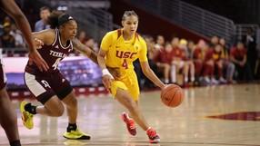USC freshman Endiya Rogers