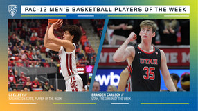 Pac-12 Men's Basketball Players of the Week 2/10/20
