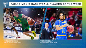 Pac-12 Men's Basketball Players of the Week 2/24/20