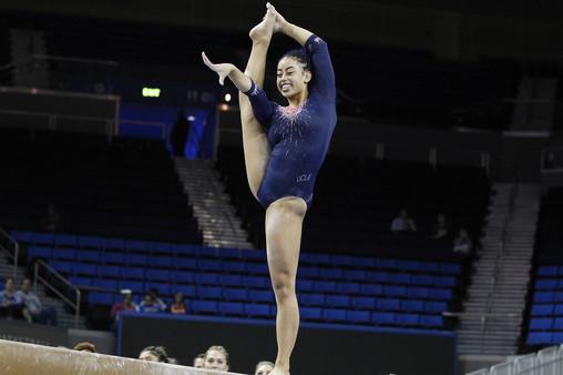 Oregon State Beavers Vs Ucla Bruins Women S Gymnastics