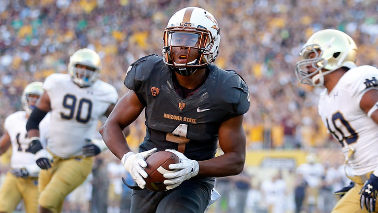"""<ul><li>A fast startand a faster finish propelled Arizona State to an <a href=""""http://pac-12.com/videos/highlights-arizona-state-football-beats-notre-dame-marquee-matchup"""">impressive non-conference victory Saturday</a></li> <li>ASU capitalized on <a href=""""http://pac-12.com/videos/arizona-states-lloyd-carrington-reflects-pick-six-vs-notre-dame"""">a series of Everett Golson turnovers</a> to build a big lead</li> <li>Taylor Kelly finished with <a href=""""http://pac-12.com/article/2014/11/08/jaelen-strong-makes-insane-one-handed-catch-asus-first-score"""">224 yards passingand three touchdowns</a></li> </ul>"""