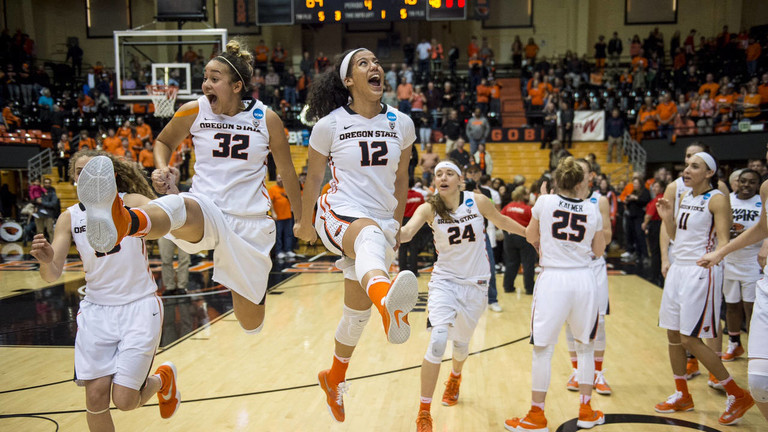 St. Bonaventure vs Oregon State Beavers Women's Basketball - March 20, 2016 - Pac-12 | Pac-12