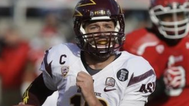 """<p>Rice-Eccles Stadium has proven to be a treacherous venue for visitors this season, but<a href=""""http://pac-12.com/videos/video-recap-arizona-state-football-utah"""" target=""""_blank"""">the Sun Devils rode a 13-point fourth quarter outburst</a>to escape with the comeback victory in Salt Lake City. Taylor Kelly and<a href=""""http://pac-12.com/videos/postgame-interview-arizona-state-utah-marion-grice"""" target=""""_blank"""">Marion Grice</a>led the way on offense before<a href=""""http://pac-12.com/videos/postgame-interview-arizona-state-utah-will-sutton"""" target=""""_blank"""">Will Sutton's interception sealed it</a>. ASU returns home to face Oregon State while<a href=""""http://pac-12.com/event/2013/11/16/utah-oregon"""" target=""""_blank"""">Utah ventures to Oregon</a>.</p>"""