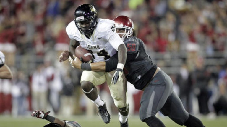 """<p>The Vandals and the Cougars' campuses are located only 10 minutes apart, so there was some regional intensity in this rivalry. But<a href=""""http://pac-12.com/videos/video-recap-washington-state-football-shutout-idaho"""" target=""""_blank"""">Washington State packed too much firepower</a>for Idaho. Connor Halliday's 346-yard effort pushed the Cougars to 3-1 for the first time since 2006.<a href=""""http://pac-12.com/event/2013/09/28/stanford-washington-state"""" target=""""_blank"""">Stanford is next</a>for Mike Leach's club</p>"""