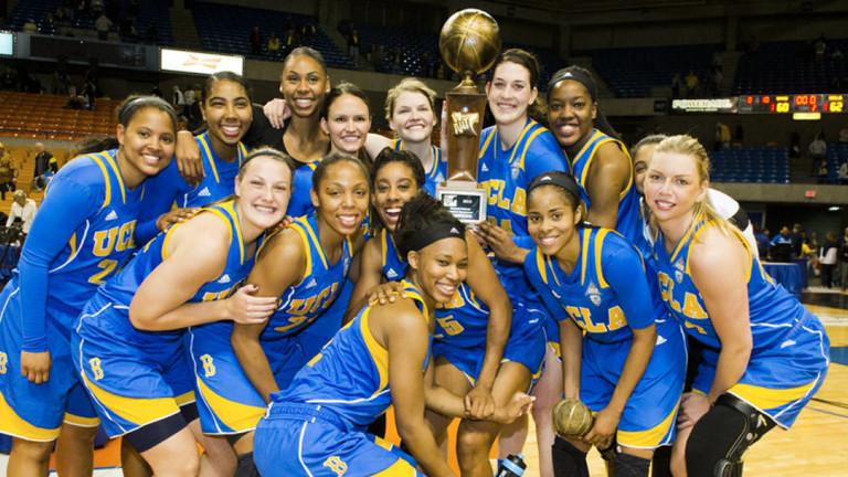 UCLA Bruins vs West Virginia Women's Basketball - April 4, 2015 - Pac-12   Pac-12