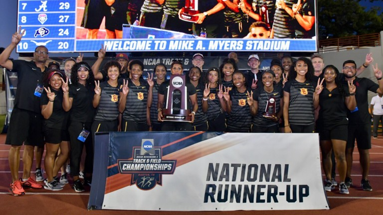 USC 2019 NCAA Track & Field runner-up