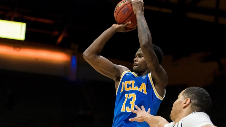 f524cfb3b Kris Wilkes' second double-double of the season boosts Bruins past Bears in  OT thriller