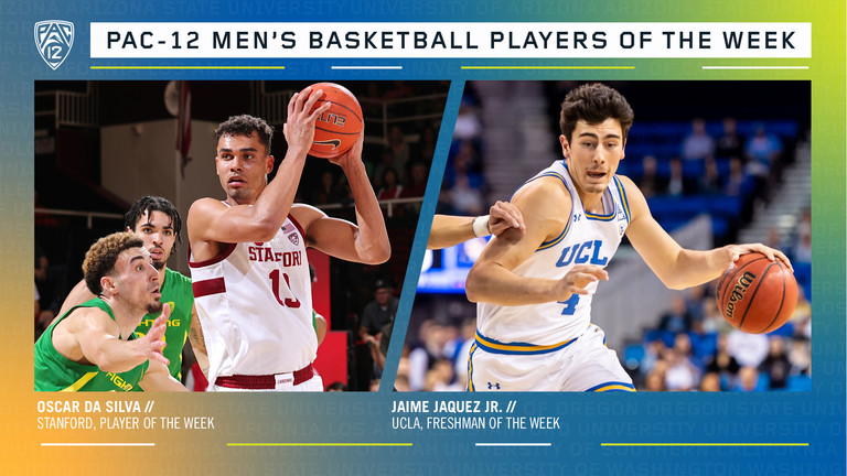 Pac-12 Men's Basketball Players of the Week 2/3/20