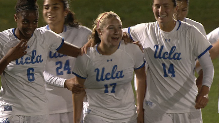 9a1ca834a71 UCLA Bruins vs Washington Huskies Women's Soccer - October 12, 2018 ...