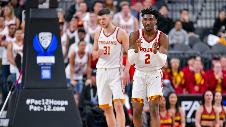 half off 03a86 d76a8 LSU vs USC Trojans Men's Basketball - December 21, 2019 ...