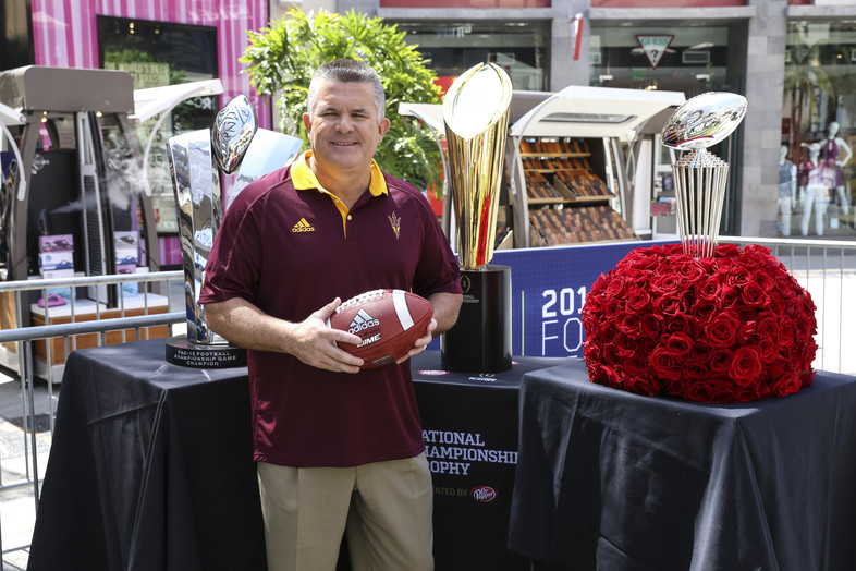 """<p>JULY - Pac-12 football officially kicked off at <a href=""""http://pac-12.com/videos/2016-pac-12-football-media-days-wrap-unique-hollywood-style"""" target=""""_blank"""">Pac-12 Football Media Days in Los Angeles</a>.</p>"""