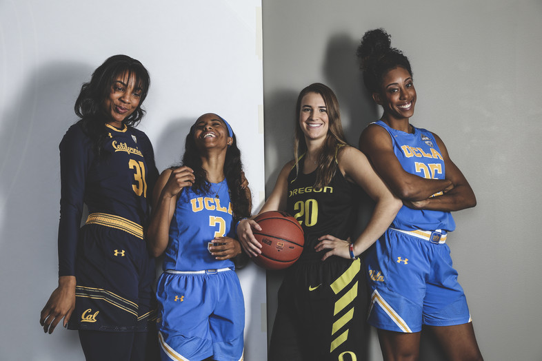 2017 Pac-12 Women's Basketball Media Days: Players and coaches own the spotlight
