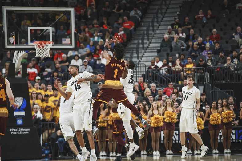 2018 Pac-12 Men's Basketball Tournament: Scenes from Day 1 in Las Vegas
