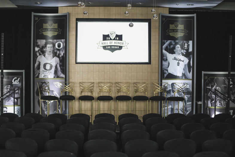 2018 Pac-12 Hall of Honor Photos