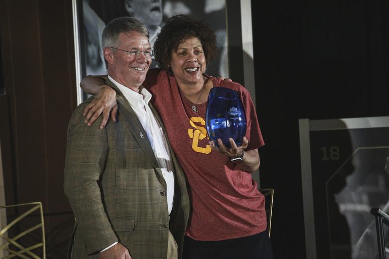 USC's Cheryl Miller.