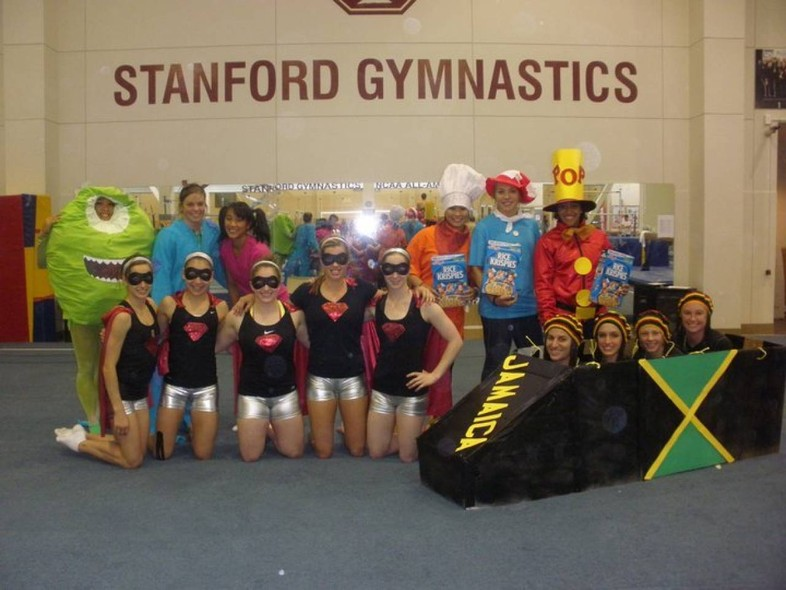 <p>The gymnasts down on The Farm are at it again. Take two features a few superheroes, a monster and even...a Jamaican bobsled team.</p>