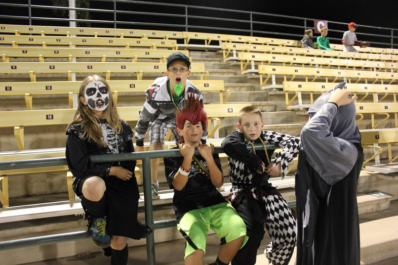 """<p>The Sun Devils baseball teamfeatured a whole cast of characters <a href=""""http://www.thesundevils.com/ViewArticle.dbml?DB_OEM_ID=30300&amp;ATCLID=209295212"""" target=""""_blank"""">Wednesday night</a> in their annual Halloween scrimmageincluding Gumby, Buzz &amp; Woody, a minionand Elf.</p>"""