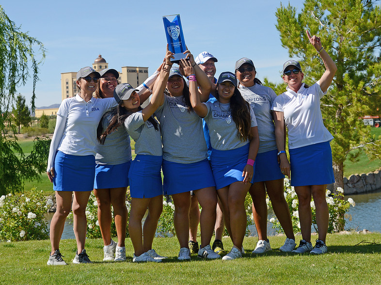 UCLA hoists its 6th women's golf title in program history