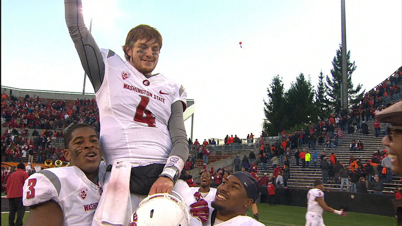 """<ul><li>Luke Falk<a href=""""http://pac-12.com/wsu-vs-oregon-state-luke-falk-first-start"""" style=""""line-height: 20.7999992370605px;"""">threw for 471 yards and five touchdowns</a>in his first career start for Washington State on Saturday</li> <li><a href=""""http://pac-12.com/videos/recap-washington-state-holds-oregon-state-corvallis"""" style=""""line-height: 1.6em;"""">WSU grabbed itssecond conference win of the season</a><span style=""""line-height: 1.6em;"""">, both on the road. Oregon State lost its fourth consecutive game, three of them coming at home</span></li> </ul>"""