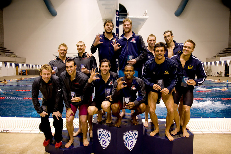 Photos: 2014 Pac-12 Men's Swimming Championships day 3