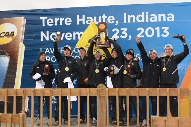 The men's cross country team from Colorado opened the year with the Pac-12's first NCAA championship of 2013-14. It marked the Buffs' fourth all-time national title in the sport.