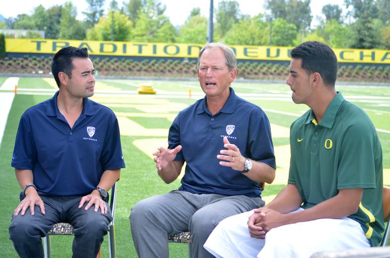 Photos: Football Training Camp shoot at Oregon