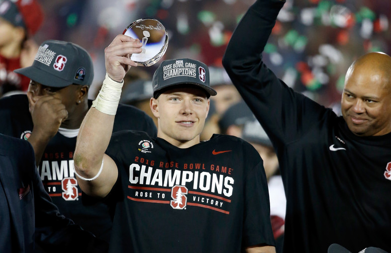 """<p>JANUARY - 2016 kicked off with <a href=""""http://pac-12.com/videos/highlights-stanford-football-routs-iowa-rose-bowl-win"""" target=""""_blank"""">No. 6 Stanford dominating No. 5 Iowa</a> 45-16 in the Rose Bowl. Christian McCaffrey had 277 all-purpose yards for the Cardinal.</p>"""