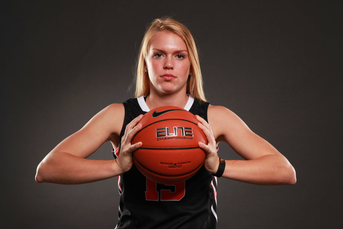<p>Oregon State guard Jamie Weisner</p>