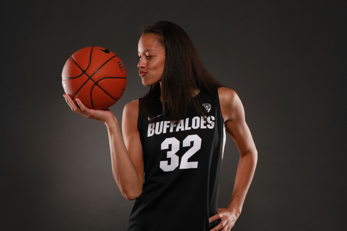 <p>Colorado forward Arielle Roberson</p>
