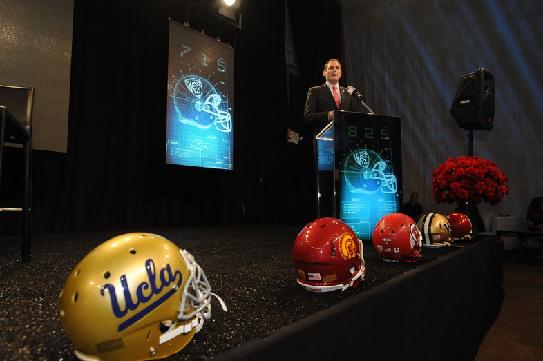 <p>Pac-12 Commissioner, Larry Scott, touches on player safety and the Pac-12 Networks to start off the 2013 Football Media Day.</p>