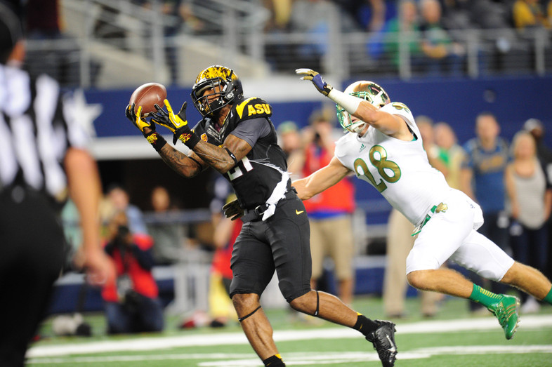 "<p>The Sun Devils fought back to tie the game late, but they <a href=""http://pac-12.com/videos/highlights-arizona-state-football-falls-short-against-notre-dame"" target=""_blank"">could not seal the deal versus the Irish.</a> Arizona State dropped two interceptions while Taylor Kelly, who racked up 362 yards by air, threw a pick six of his own. <a href=""http://pac-12.com/videos/arizona-state-notre-dame-postgame-reactions"" target=""_blank"">Here are some postgame reactions</a>. <a href=""http://pac-12.com/event/2013/10/12/colorado-arizona-state"">ASU hosts Colorado</a> next.</p>"
