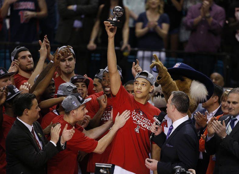 Pac-12 Tournament photos: Arizona takes the title