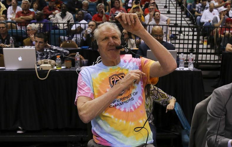 """""""There are no truck stops in the Conference of Champions.""""- Bill Walton"""