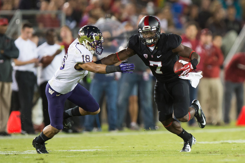 "<p>In a heavyweight battle, <a href=""http://pac-12.com/videos/highlights-stanford-football-beats-washington"" target=""_blank"">Stanford survived against Washington</a>. The Huskies' Keith Price was spectacular against the Cardinal's rugged defense with 350 yards, but Stanford's <a href=""http://pac-12.com/videos/postgame-interview-stanfords-ty-montgomery"" target=""_blank"">Ty Montgomery was even better</a>: He racked up nearly 300 all-purpose yards to rescue the home team on offense. The <a href=""http://pac-12.com/event/2013/10/12/oregon-washington"" target=""_blank"">Huskies host Oregon</a> next while <a href=""http://pac-12.com/event/2013/10/12/stanford-utah"" target=""_blank"">Stanford travels to Utah</a>.</p>"