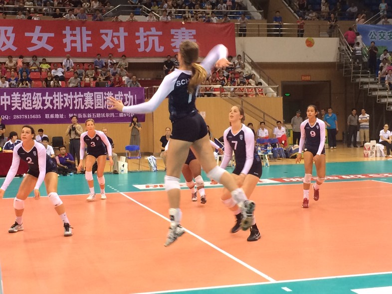"""<p>Despite a <a href=""""http://pac-12.com/article/2014/06/21/pac-12-all-star-team-wraps-first-stop-china-tour-3-1-record"""" target=""""_blank"""">five-set loss</a>, the Pac-12 all-stars rose to the occasion against Fujian Saturday in Sanming.</p>"""
